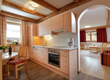 Ferienhaus_Bergland_Ellmau_Appartement_2_Kueche